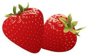 Red-Strawberries-Vector