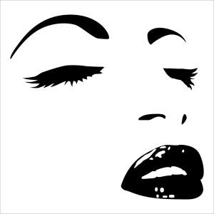 stickers-visage-femme