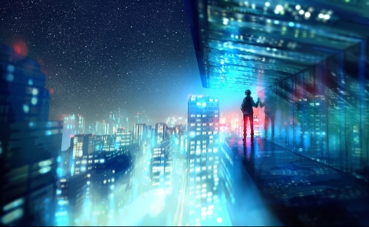 above_the_lights_by_yuumei-d8rr0oe.jpg