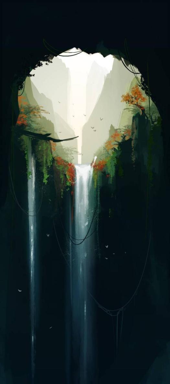 waterfall_by_ren_li_d9ic40u-fullview